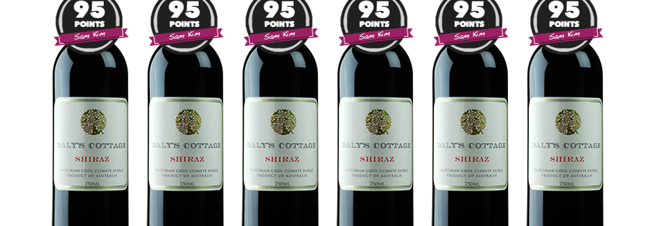 2017 Mt Avoca Daly's Cottage Shiraz - Buy 1 pack of 12 and get an extra 6 free