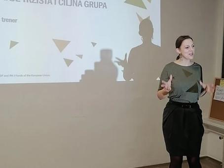 Lidija Arsenin- Тrening na temu Istraživanja i segmentiranja tržišta