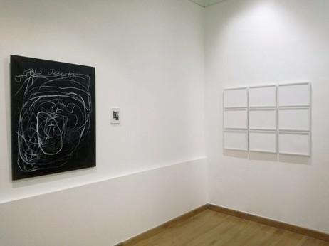 """""""Voir/Montrer la guerre aujourd'hui"""", group show, curatrices Caroline Blanvilain Marie-Dominique Bidard, centre culturel Faculté d'éducation, Montpellier, 2018"""