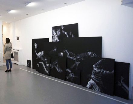 """""""Tremblements"""", group show, galerie Valérie Delaunay, Paris, 2017"""