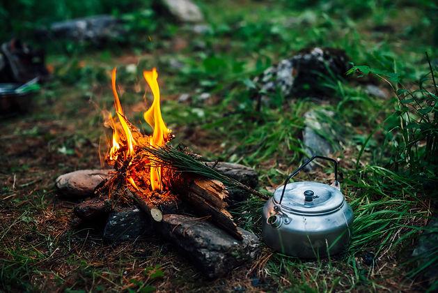 bigstock-Camping-Kettle-Near-Small-Camp-