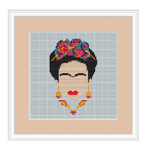 Herstory: Cross Stitching Portraits of Women that Changed the World