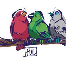Impression sur tableau FUL Lea illustratrice
