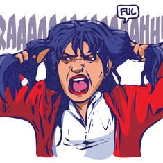 Adolescente en furie