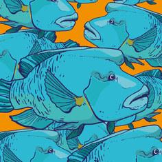 """Je m'en """"fish"""". Poissons"""