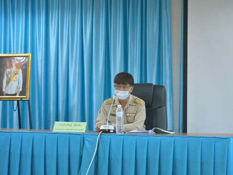 การประชุมสภาเทศบาลตำบลบ้านแป้น      สมัยสามัญ สมัยที่3 ครั้งที่ 2 ประจำปี 2564