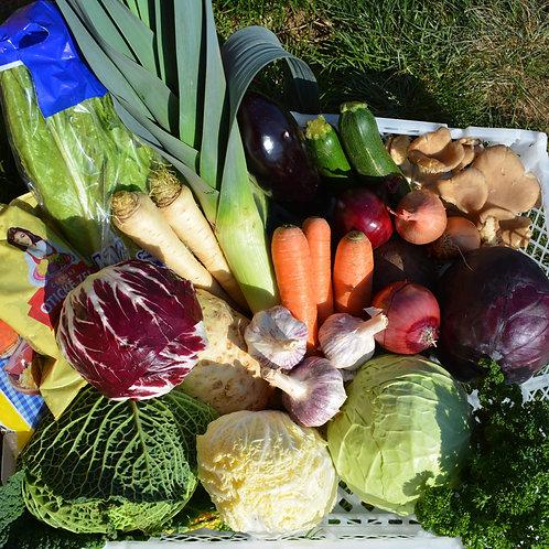 Zelenina - veká bedýnka