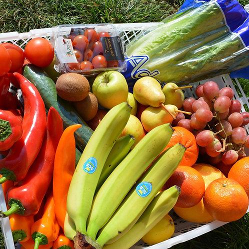 Mix ovoce a zeleniny - malá bedýnka