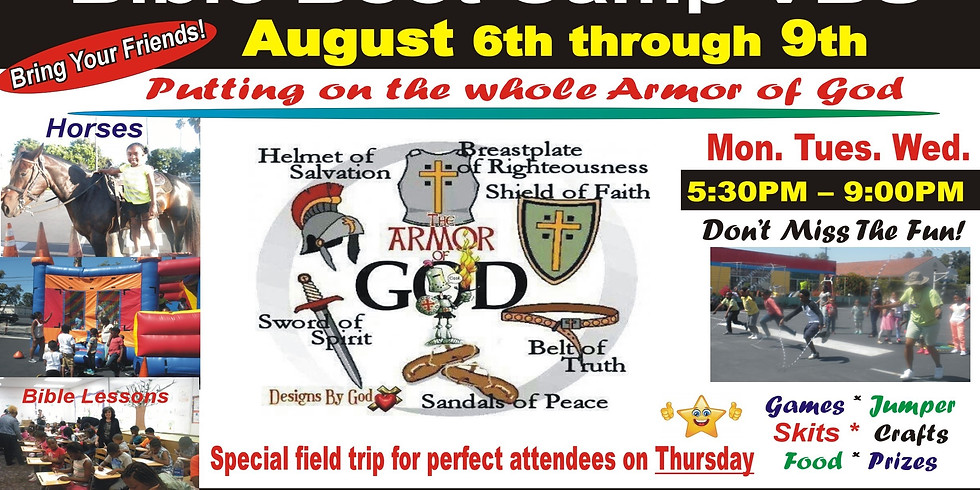 Bible Boot Camp VBS