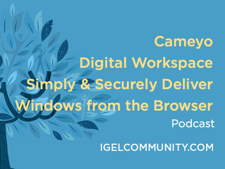 Cameyo Digital Workspace - Simply & Securely Deliver Windows from the Browser - Podcast