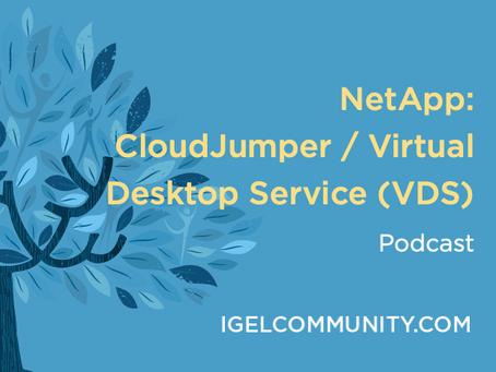 NetApp: CloudJumper / Virtual Desktop Service (VDS) Podcast