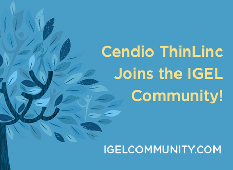 Cendio ThinLinc Joins the IGEL Community!