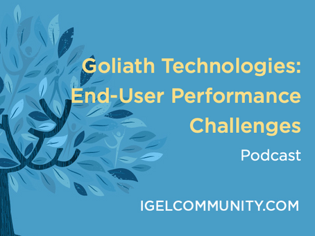Goliath Technologies: End-User Performance Challenges Podcast