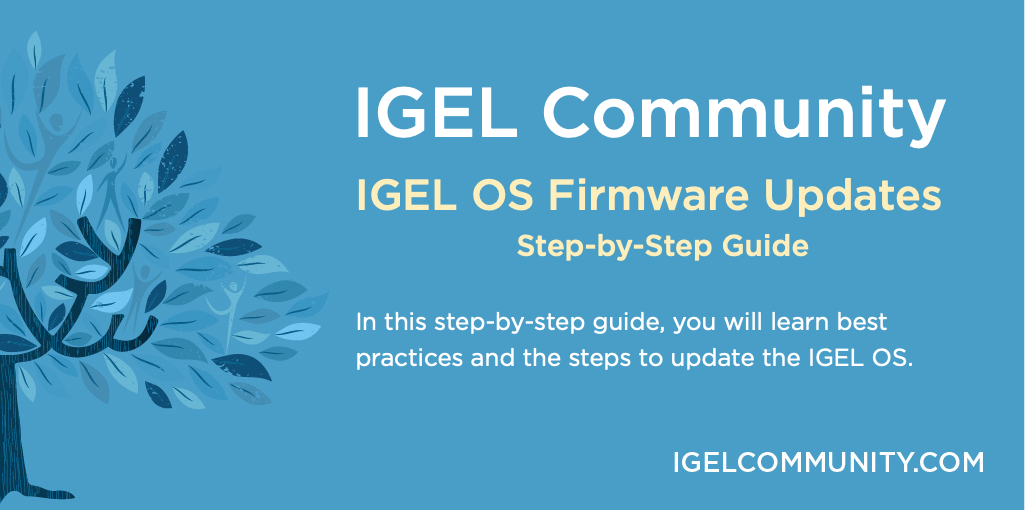 How to Update IGEL OS Firmware - Step-by-Step Guide