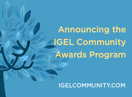 Announcing the IGEL Community Awards!