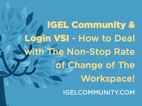 IGEL Community & Login VSI Webinar Recoring