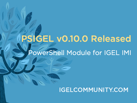 PSIGEL v0.10.0 Released