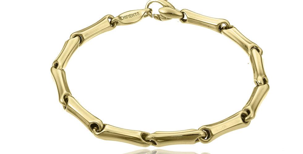 Chimento 18 krt. geelgouden bamboe armband | 8,7 gram