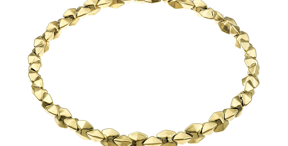 Chimento 18 krt. geelgouden stretch armband