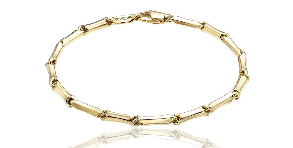 Chimento 18 krt. geelgouden bamboe armband | 5,4 gram