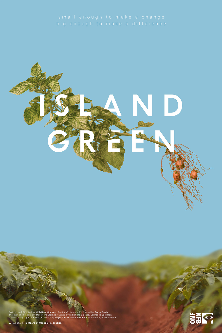 Island Green poster