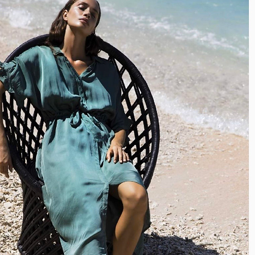 Oneseason Jasmine Dress Emerald