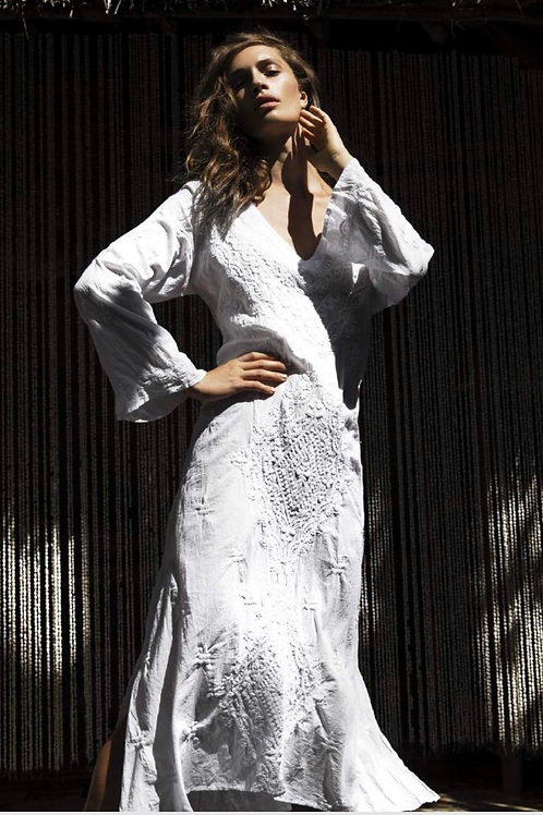 Oneseason Goa Dress White