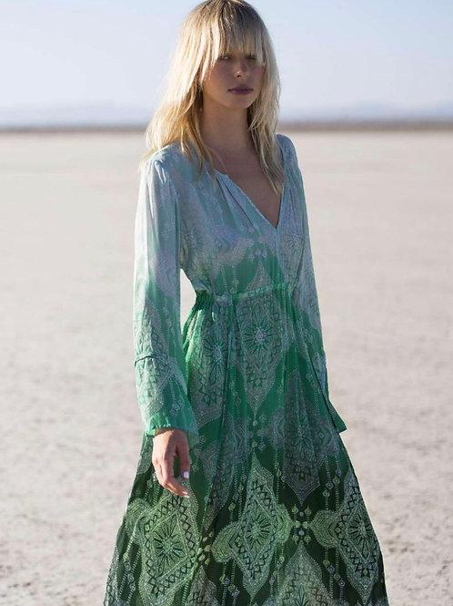 Oneseason Taj Becca Dress Emerald