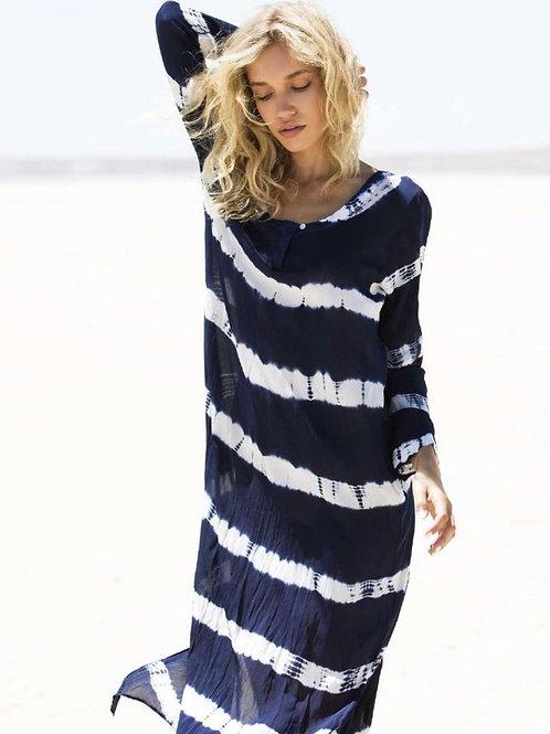 Oneseason Negin Dress Blue/White