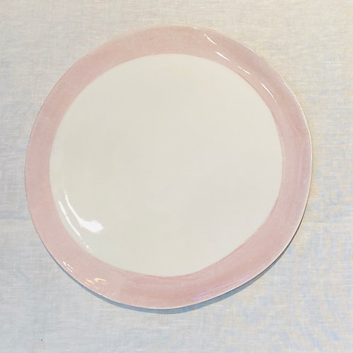 Bertozzi Light Pink Plate 24 cm