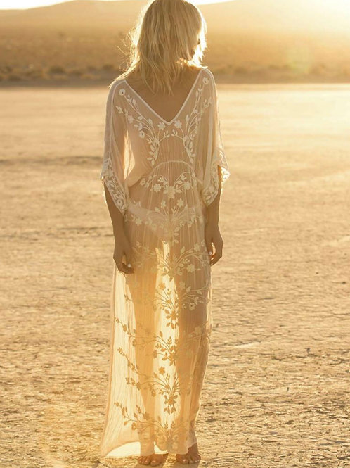 Oneseason Floaty Dress Sand