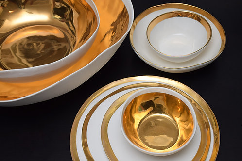 Golden bowls full paint 13 cm
