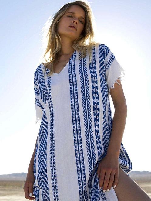 Oneseason Lido Dress Blue/White