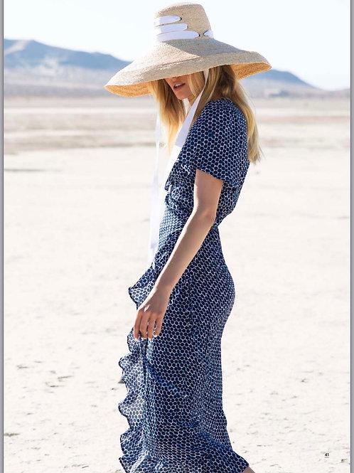 Oneseason Grace Bay Frill Wrap Dress