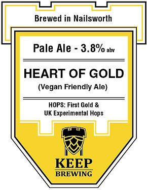 HEART OF GOLD - 3.8% - Pale Ale