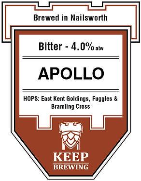 APOLLO - 4.0% - Best Bitter