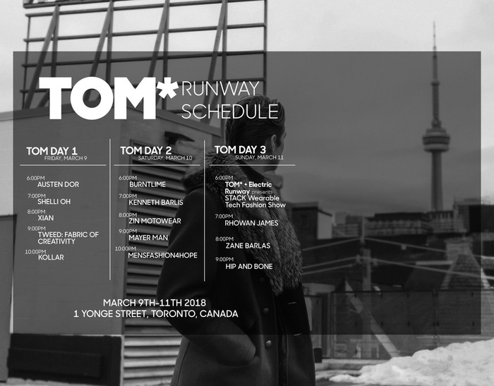 JMtrends will be part of Tweed + TOM @ Toronto Men Fashion Show