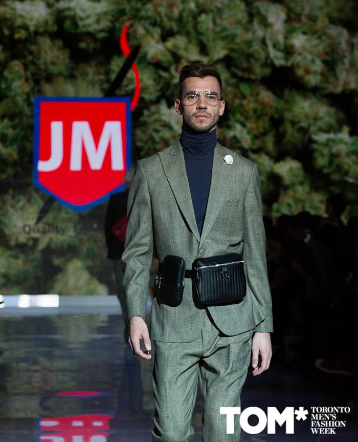 Our collections at Tweed + TOM ( Toronto Men Fashion Week)