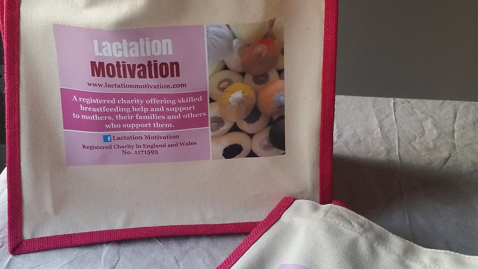Lactation Motivation Tote bag