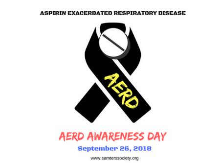 AERD Awareness Day 9-26-18: Updates