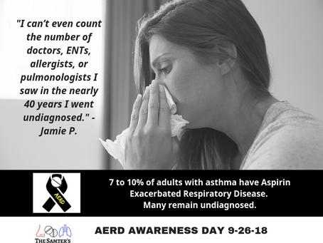 AERD Awareness Day - Tell the World Your AERD Story