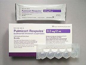 budesonide pulmcort polyps smell aspirin