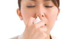 Steroid nasal sprays and rinses help nasal polyp symptoms in AERD (Samter's Triad) patients.