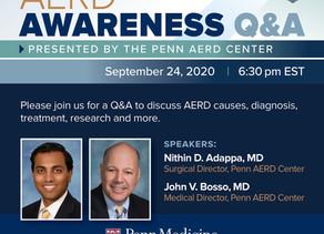 Live AERD Q & A Event - September 24, 2020