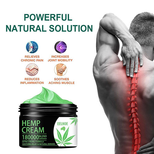 EELHOE Organic Hemp Cream Soothing Relief & Natural Derived