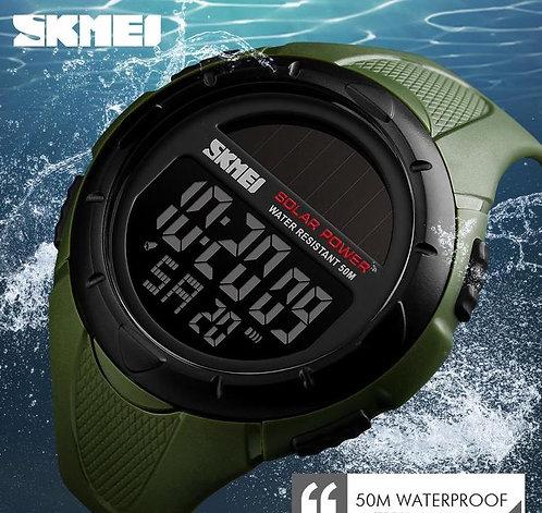 SKMEI Solar Powered Outdoor Water Resistant Watch
