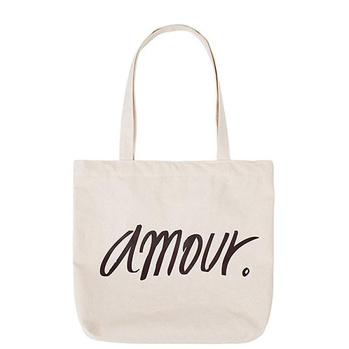 Amour French Love Tote Bag