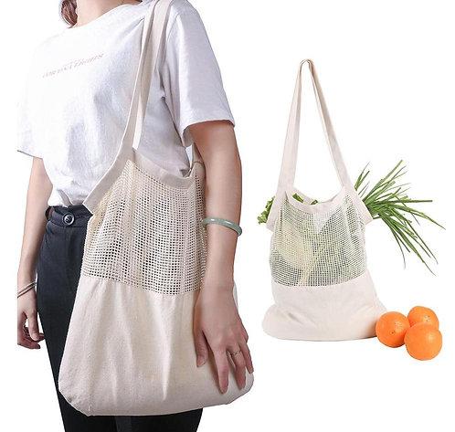 Reusable Net Grocery Shopping Bag