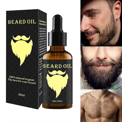 100% Natural Organic Beard Growth Oil