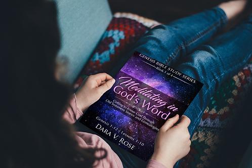 Bundle Set Meditating in God's Word | Genesis | Books 1-4